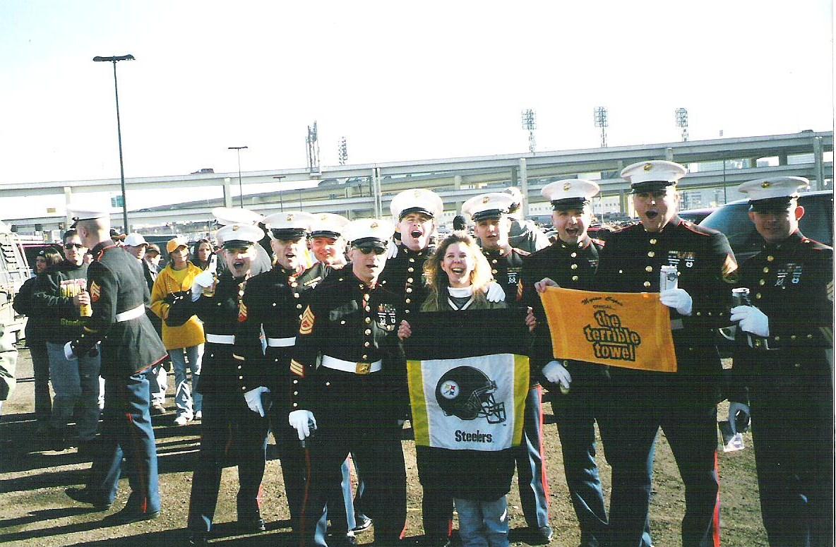 Marines Pick Their Girl- Wordless Wednesday