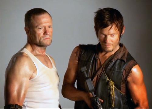 Daryl Walking Dead Season 3