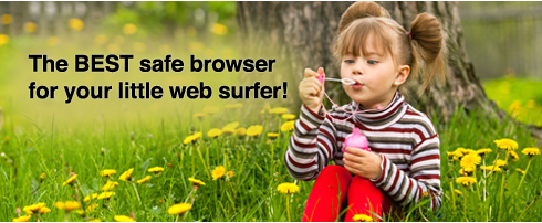 Secure browsing with Cocoon Kids