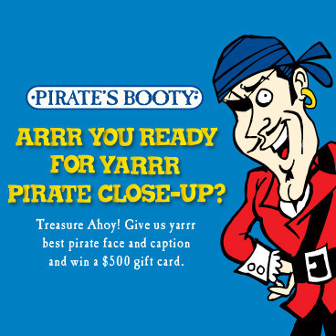 """Pirate's Booty """"Talk Like A Pirate Day"""" Photo & Caption Contest"""