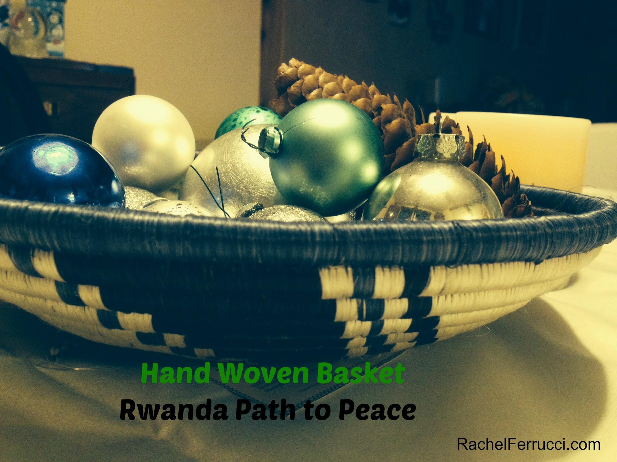 Hand Woven Basket, Rwanda Path to Peace, Macy's