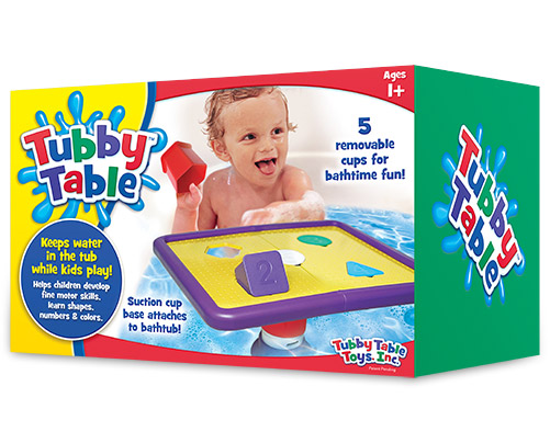 Bath Time Fun with Tubby Table