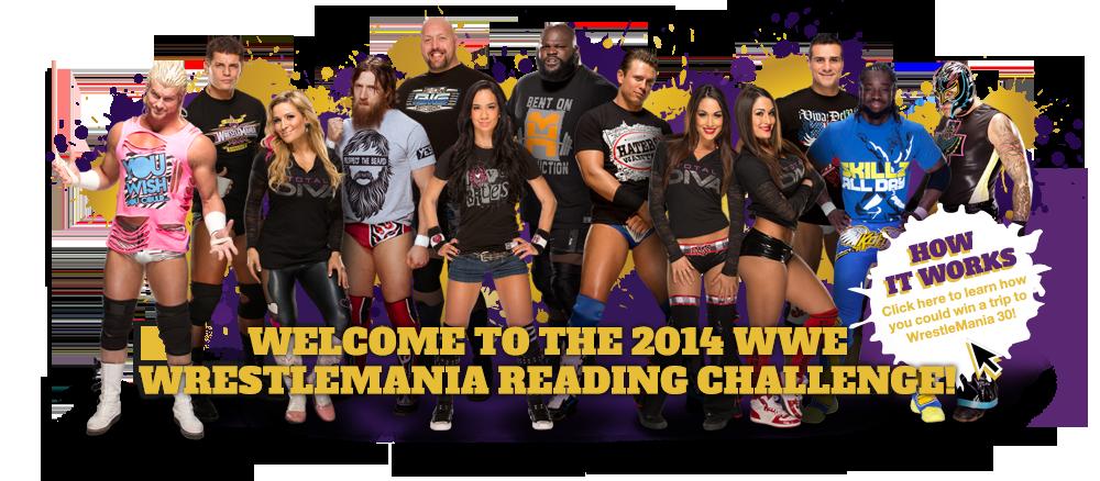Wrestlemania Reading Superstar Challenge #WWEMoms