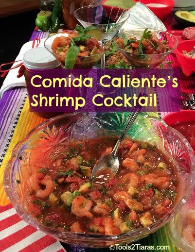 Comida Caliente's Shrimp Cocktail and Hot New Show