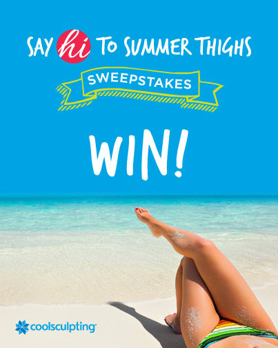 Say Hi To Summer Thighs With Coolsculpting Giveaway