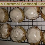 Apple Carmel Oatmeal Cookies