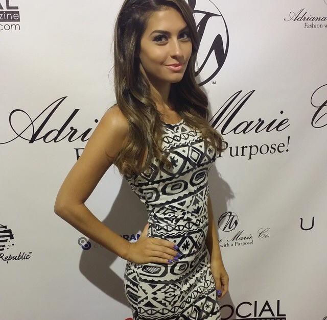 Adriana Marie Brings Wow Factor to New York Fashion Week