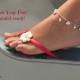 Sandal ready Feet