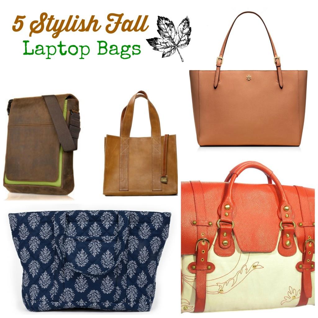 Tools 2 Tiaras: 5 Stylish Fall Laptop Bags