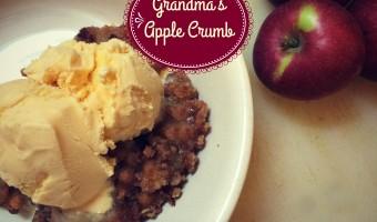 Grandma's Apple Crumb Recipe