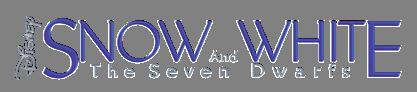 Disney Snow White and the seven dwarfs
