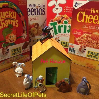 The Secret Life Of Pets and General Mills Cereal