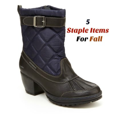 5 Staple Items Your Closet Needs For Fall