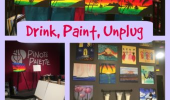 Unplug with Wine, Paint, and Friends at Pinot's Palette