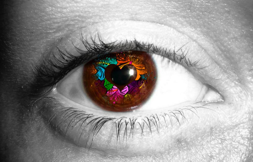 heart eye