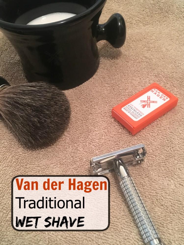 Van der Hagen wet shave set