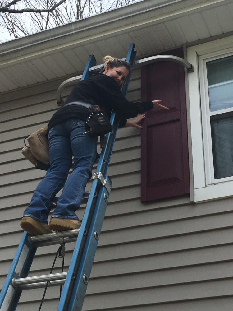 installing shutters