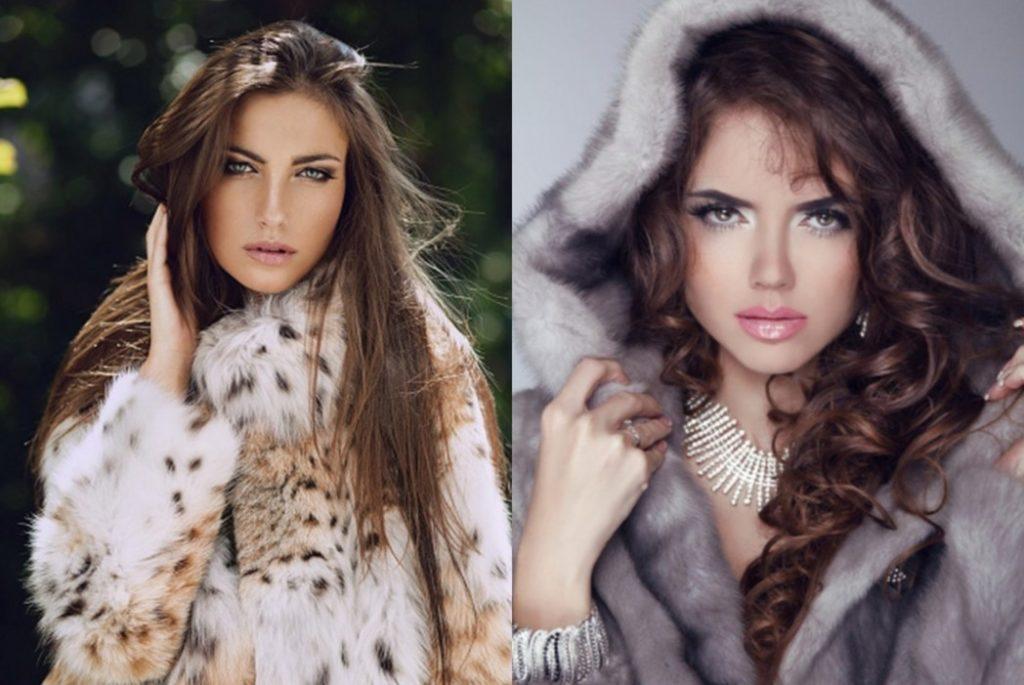 twins in fur