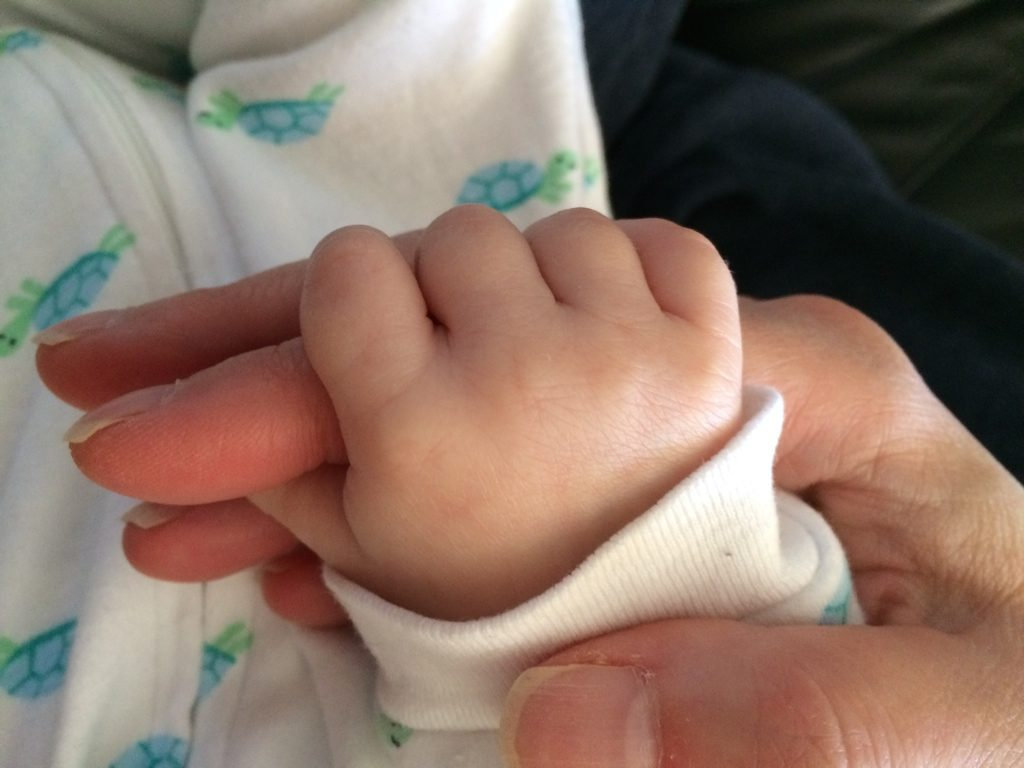 Infant hand