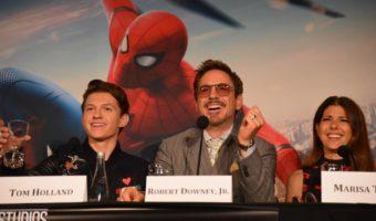 My Epic Spider-Man Homecoming Press Junket