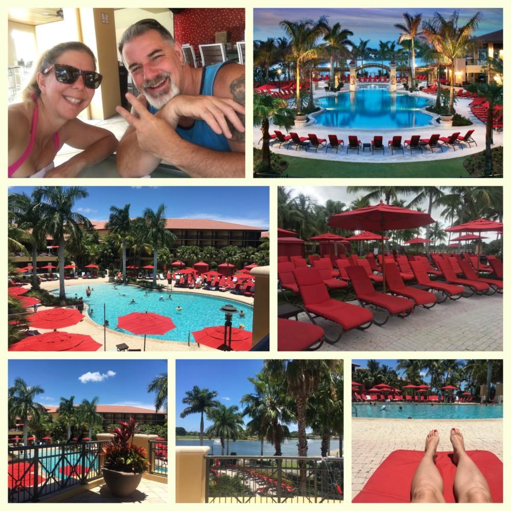 Beach Style pool at PGA Resort and Spa