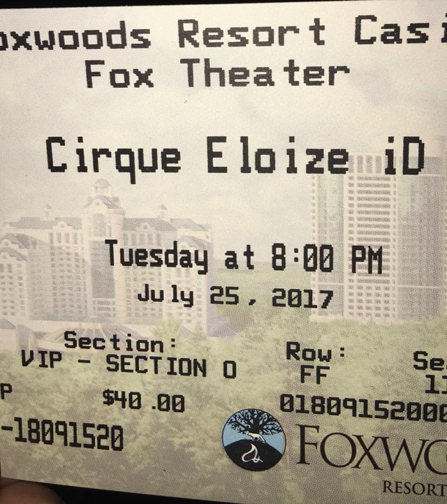 Cirque Eloize ticket