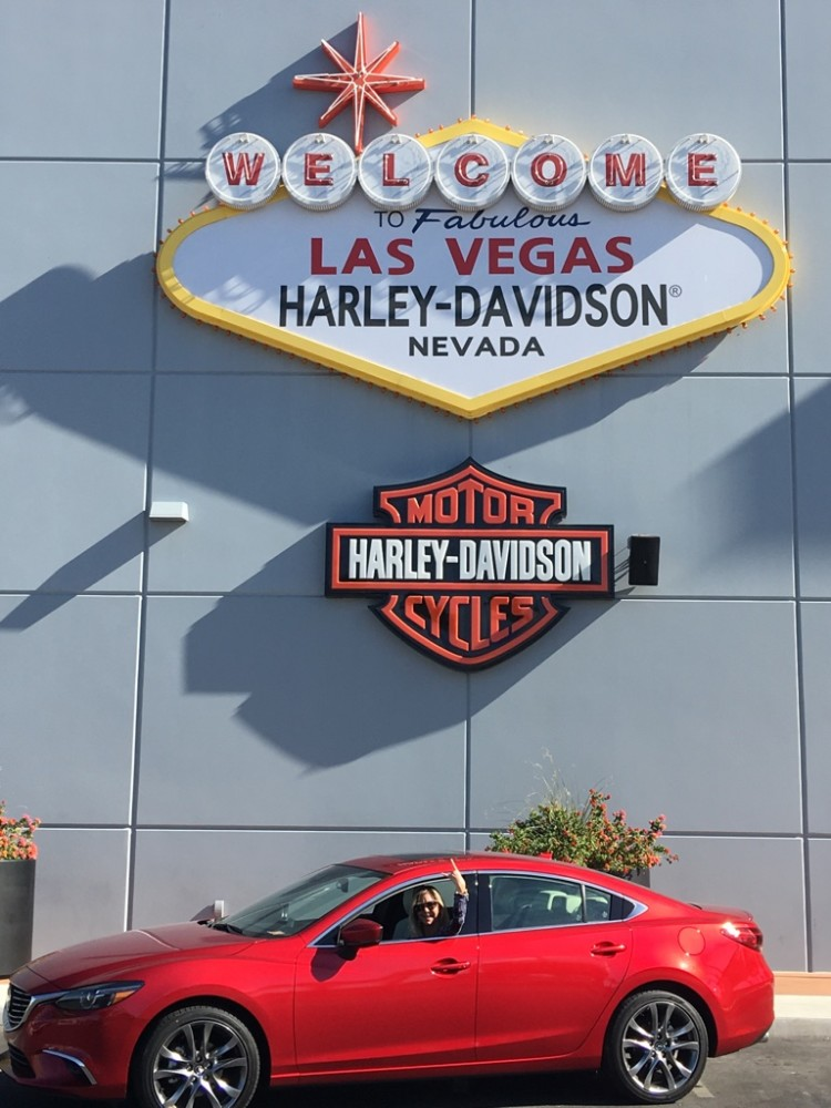 Mazda 6 in Vegas