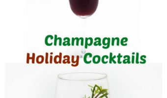 2 Fun Champagne Holiday Cocktails