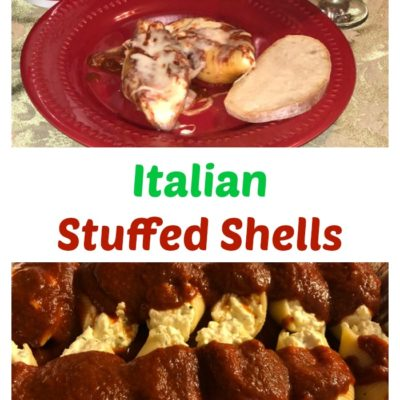 Authentic Italian Stuffed Shells