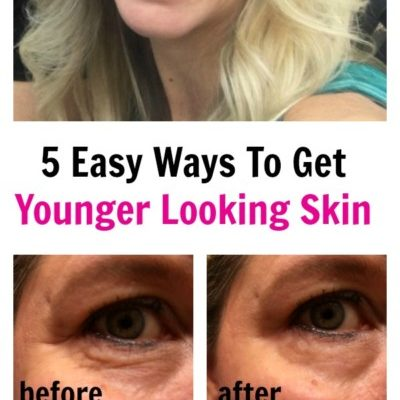 5 Easy Ways To Get Younger Looking Skin