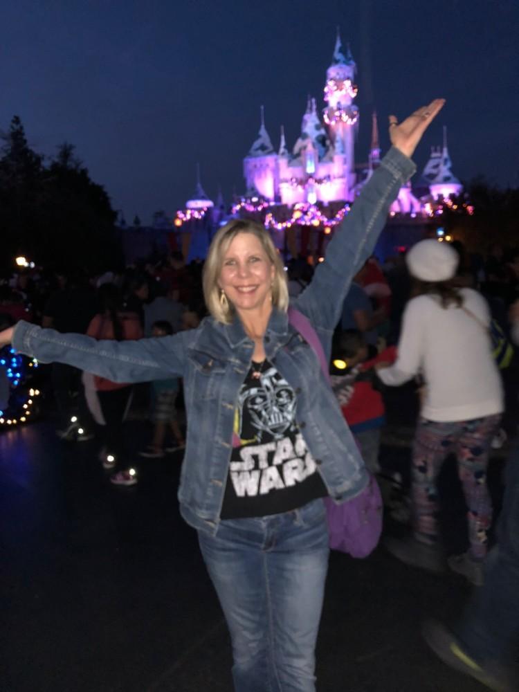 Disneyland Calif cinderella's castle
