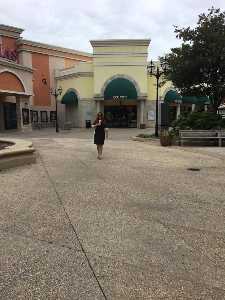 walking to red mango
