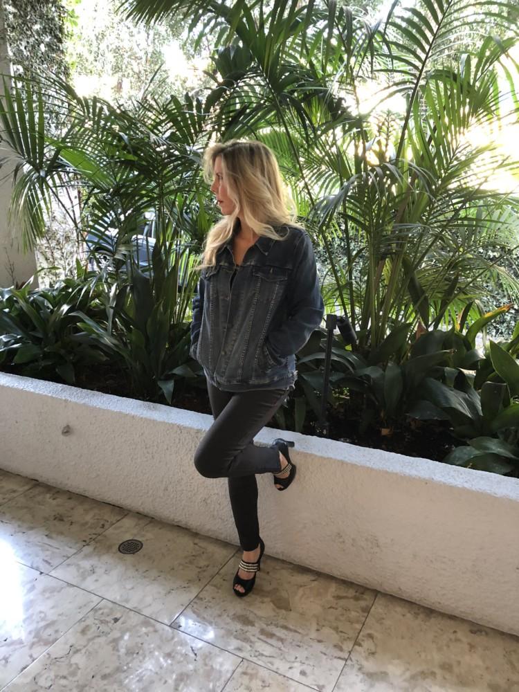 Blue jean jacket rachel ferrucci