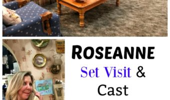 ROSEANNE set visit and exclusive interviews
